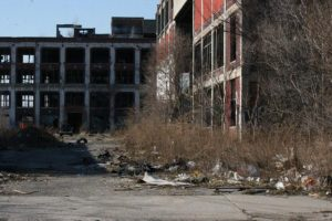 File photo of Packard Plant. CREDIT HILARY FARRELL